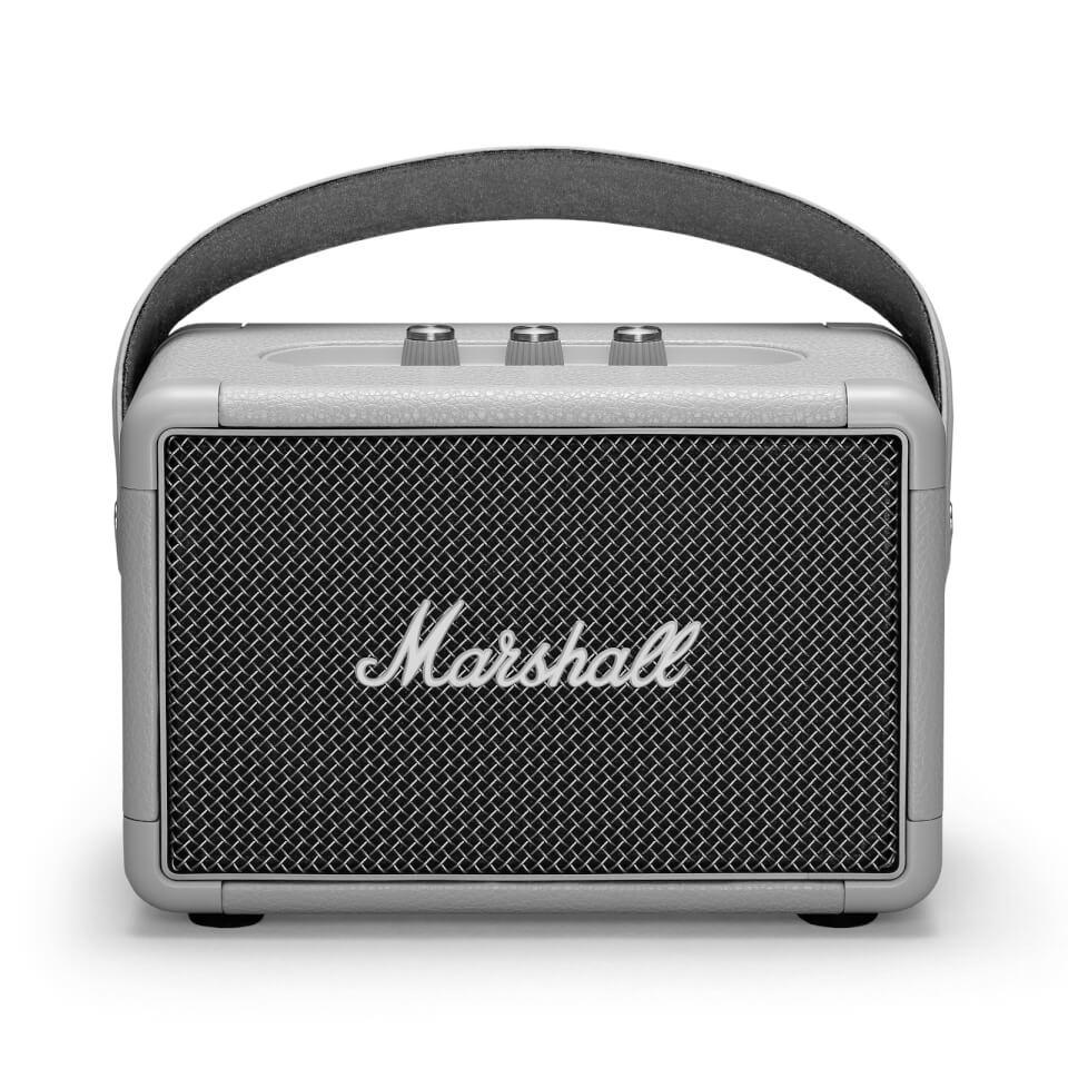 Ausgefallengadgets - Marshall Kilburn II Portable Bluetooth Speaker Grey - Onlineshop Sowas Will Ich Auch