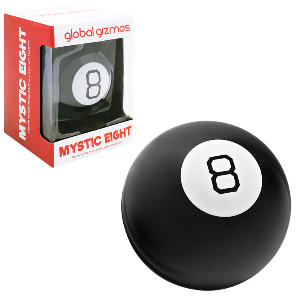 Ausgefallengadgets - Global Gizmos Magic 8 Ball - Onlineshop Sowas Will Ich Auch