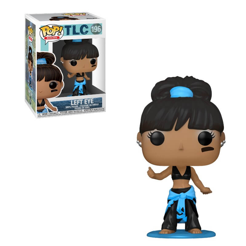Pop! Rocks TLC Left Eye w/Chase Pop! Vinyl Figure