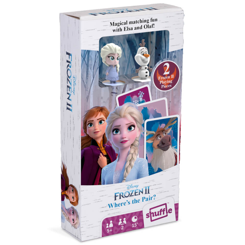 Nützlichfanartikel - Disney Frozen 2 Figurines Card Game Where's the Pair - Onlineshop Sowas Will Ich Auch