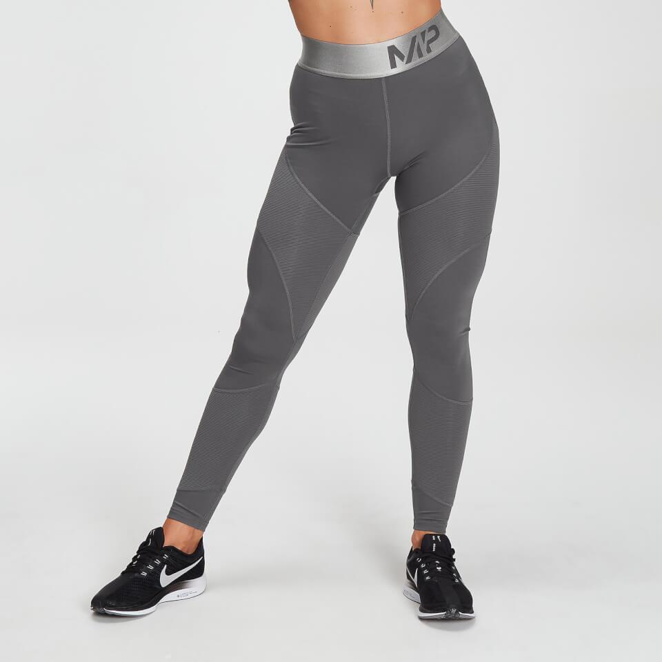 MP Adapt getextureerde legging voor dames - Carbon - M
