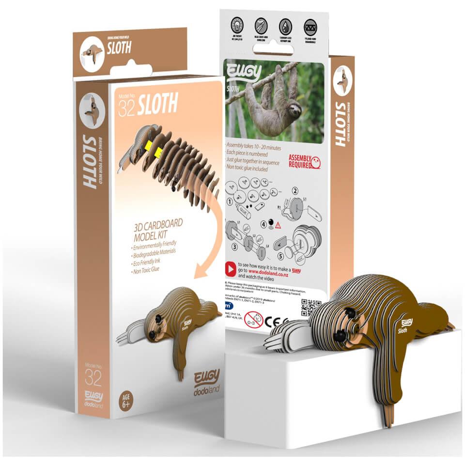 - EUGY Sloth 3D Craft Kit - Onlineshop Sowas Will Ich Auch