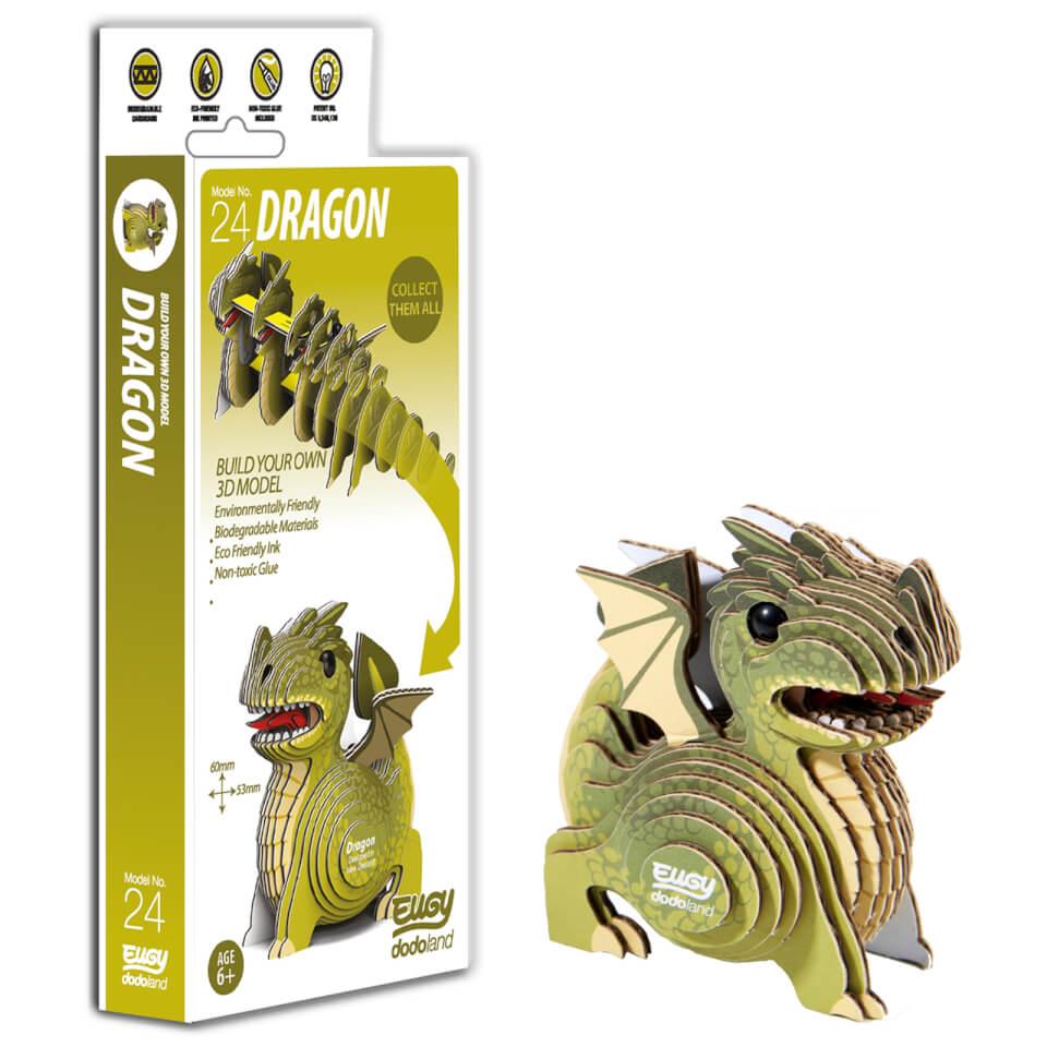 - EUGY Dragon 3D Craft Kit - Onlineshop Sowas Will Ich Auch
