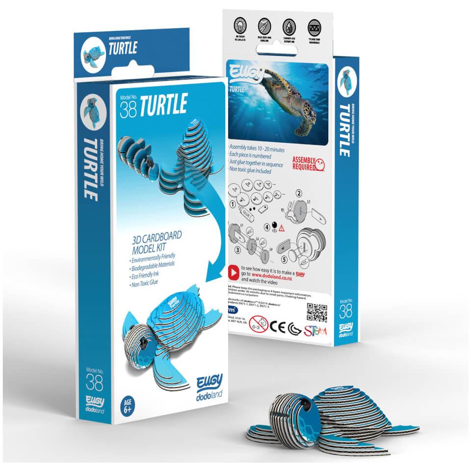 - EUGY Turtle 3D Craft Kit - Onlineshop Sowas Will Ich Auch