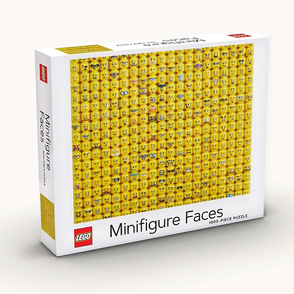 Ausgefallenkreatives - LEGO® Minifigure Faces 1000 Piece Puzzle - Onlineshop Sowas Will Ich Auch
