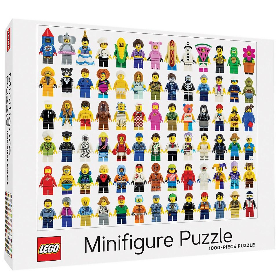 Ausgefallenkreatives - LEGO Minifigure Jigsaw Puzzle - Onlineshop Sowas Will Ich Auch