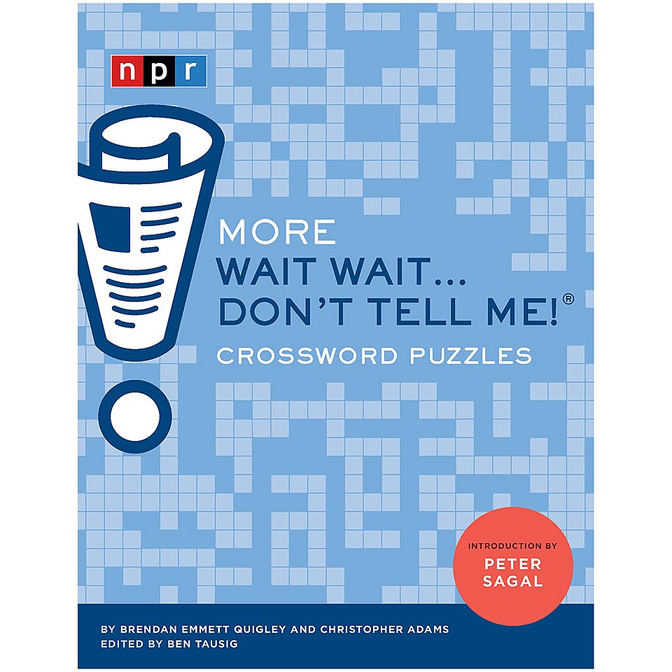 Ausgefallenkreatives - More Wait Wait… Don't Tell Me! Crossword Puzzles - Onlineshop Sowas Will Ich Auch