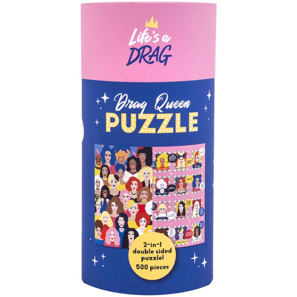 Ausgefallenkreatives - Fizz Creations Drag Queen Puzzle - Onlineshop Sowas Will Ich Auch
