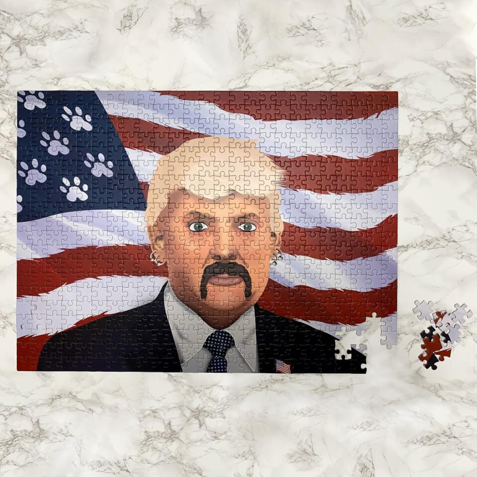 Ausgefallenkreatives - The Exotic President Puzzle - Onlineshop Sowas Will Ich Auch