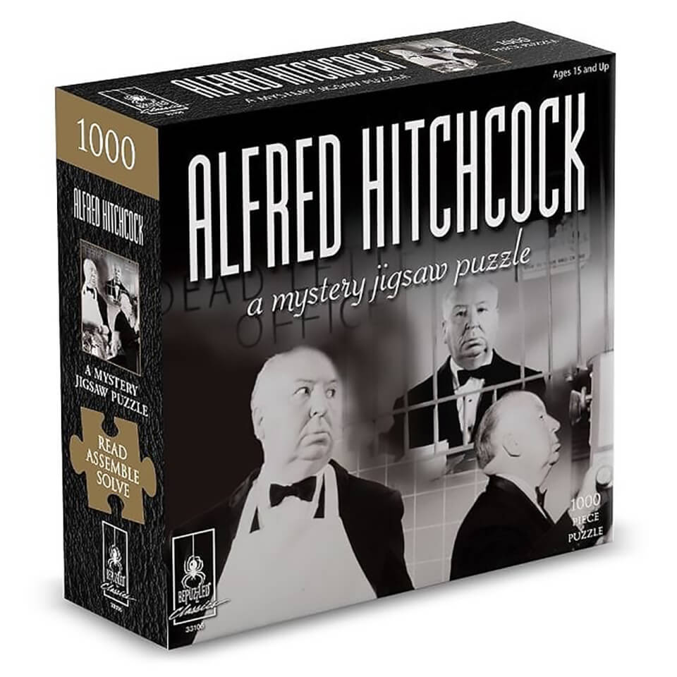 Ausgefallenkreatives - Alfred Hitchcock Mystery Jigsaw Puzzle (1000 Pieces) - Onlineshop Sowas Will Ich Auch