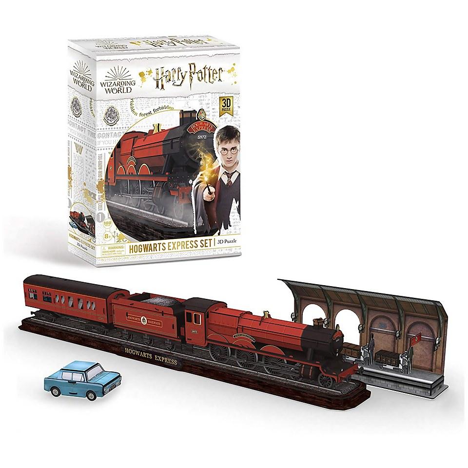 Nützlichfanartikel - Harry Potter Hogwarts Express 3D Jigsaw Puzzle - Onlineshop Sowas Will Ich Auch