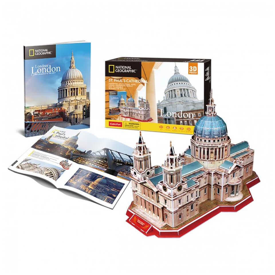 Ausgefallenkreatives - National Geographic St Pauls 3D Jigsaw Puzzle - Onlineshop Sowas Will Ich Auch