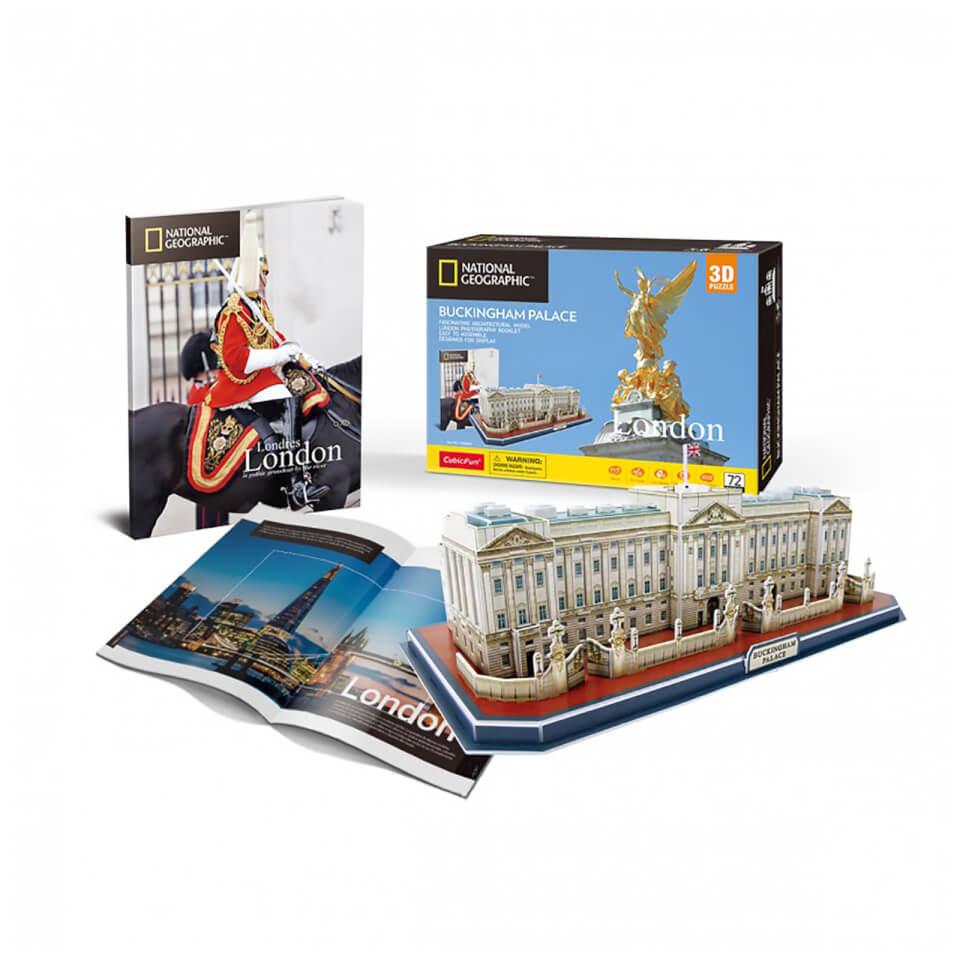 Ausgefallenkreatives - National Geographic Buckingham Palace 3D Jigsaw Puzzle - Onlineshop Sowas Will Ich Auch