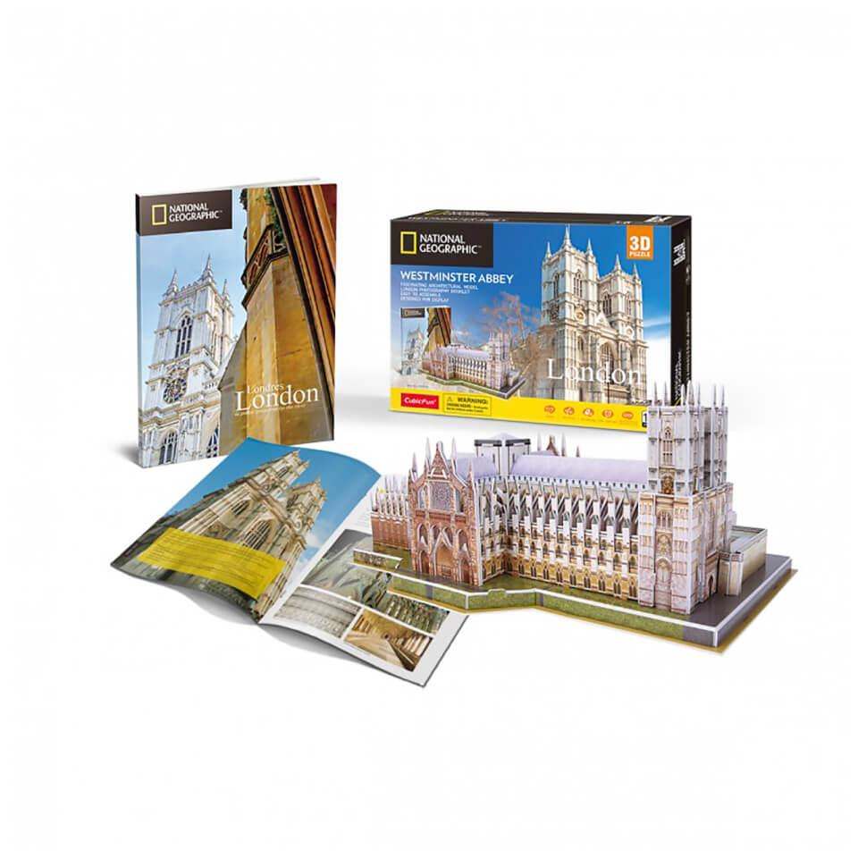 Ausgefallenkreatives - National Geographic Westminster Abbey 3D Jigsaw Puzzle - Onlineshop Sowas Will Ich Auch