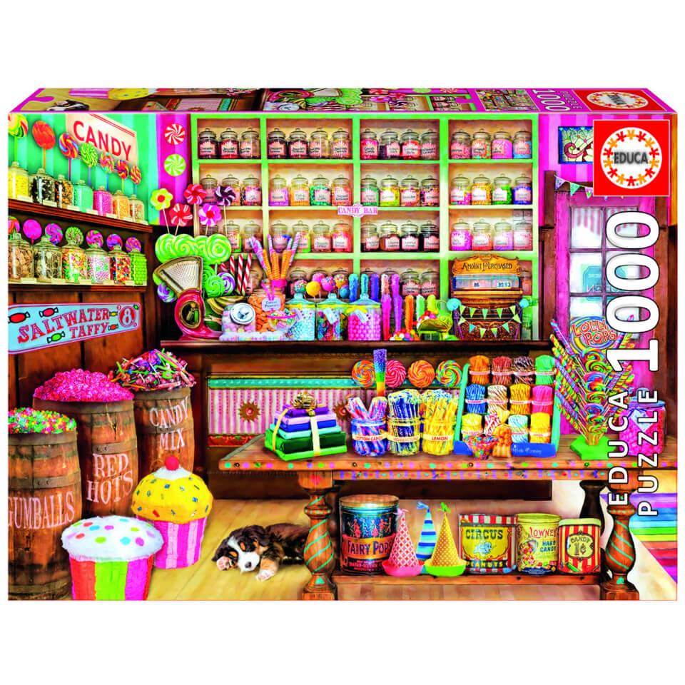 Ausgefallenkreatives - Candy Shop Jigsaw Puzzle (1000 Pieces) - Onlineshop Sowas Will Ich Auch