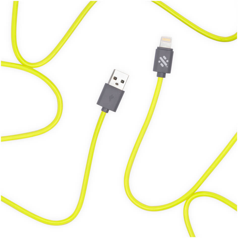 Ausgefallengadgets - Swipe Link 1m Lightning Charge Cable Green - Onlineshop Sowas Will Ich Auch