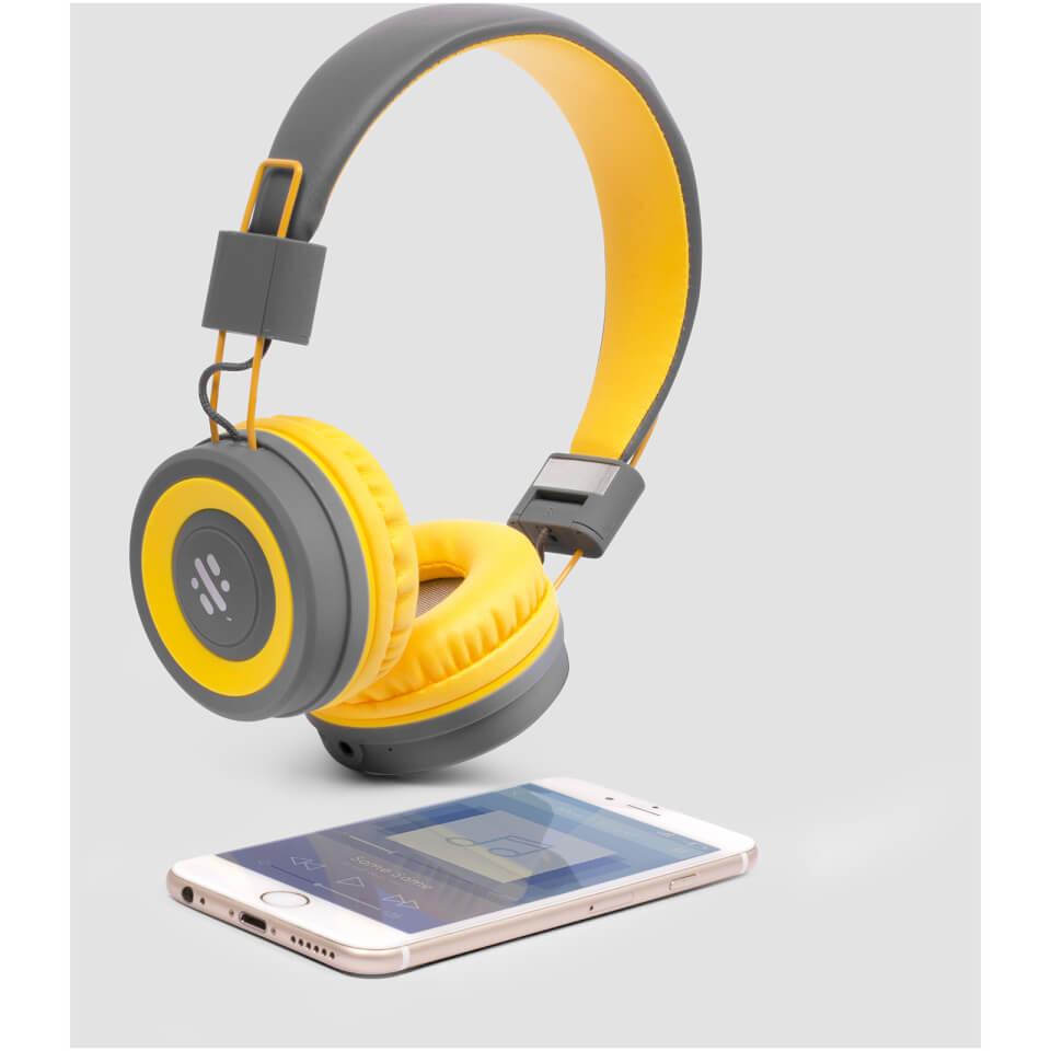 Ausgefallengadgets - Swipe Pump DJ Headphones - Onlineshop Sowas Will Ich Auch
