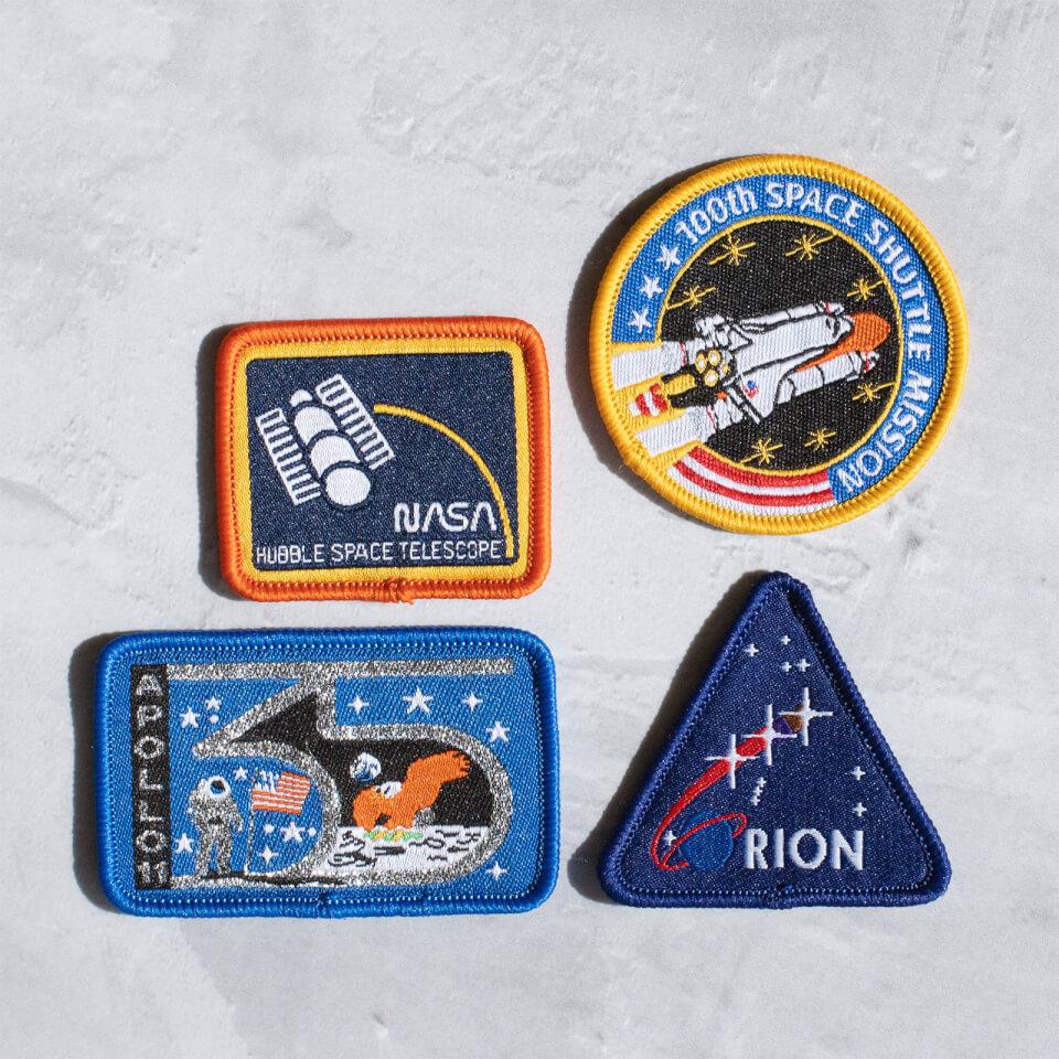 Ausgefallengadgets - NASA Iron On Patch Set - Onlineshop Sowas Will Ich Auch
