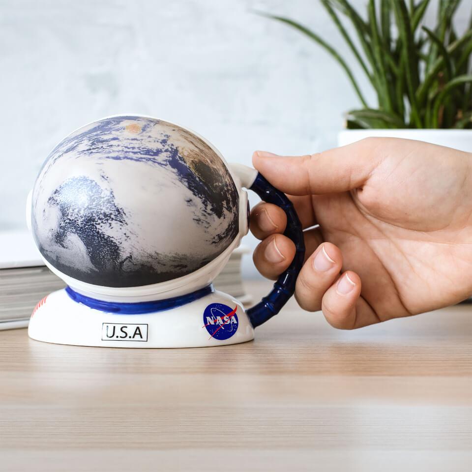 Ausgefallengadgets - NASA Colour Changing Helmet Mug - Onlineshop Sowas Will Ich Auch