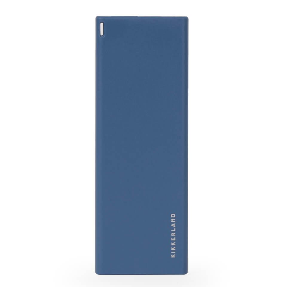Ausgefallengadgets - Blue Slim Power Bank - Onlineshop Sowas Will Ich Auch