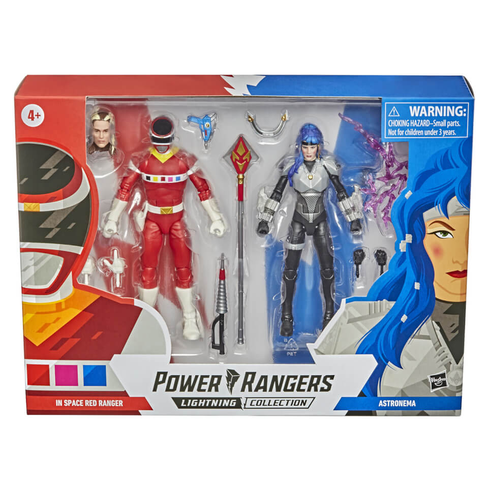 Hasbro Power Rangers Lightning Collection In Space Red Ranger vs. Astronema 2-Pack Action Figures