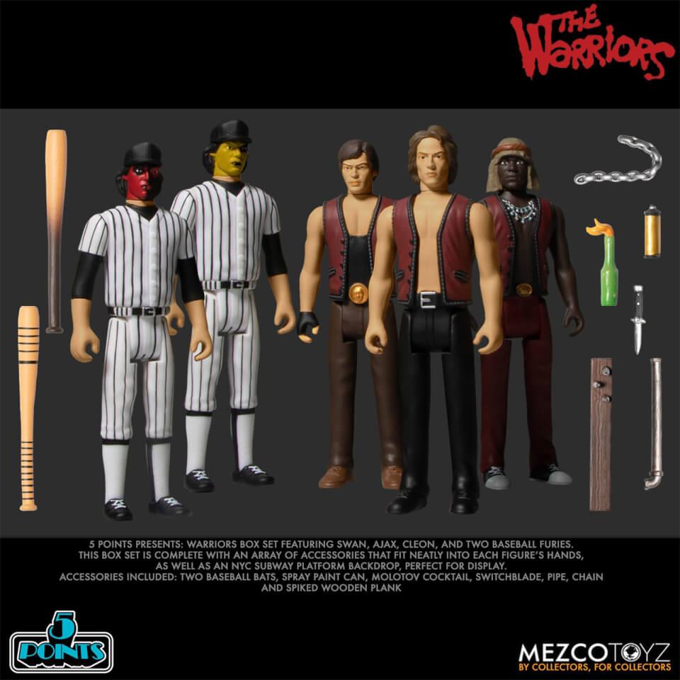 Mezco Warriors Five Points Five Figure Box Set