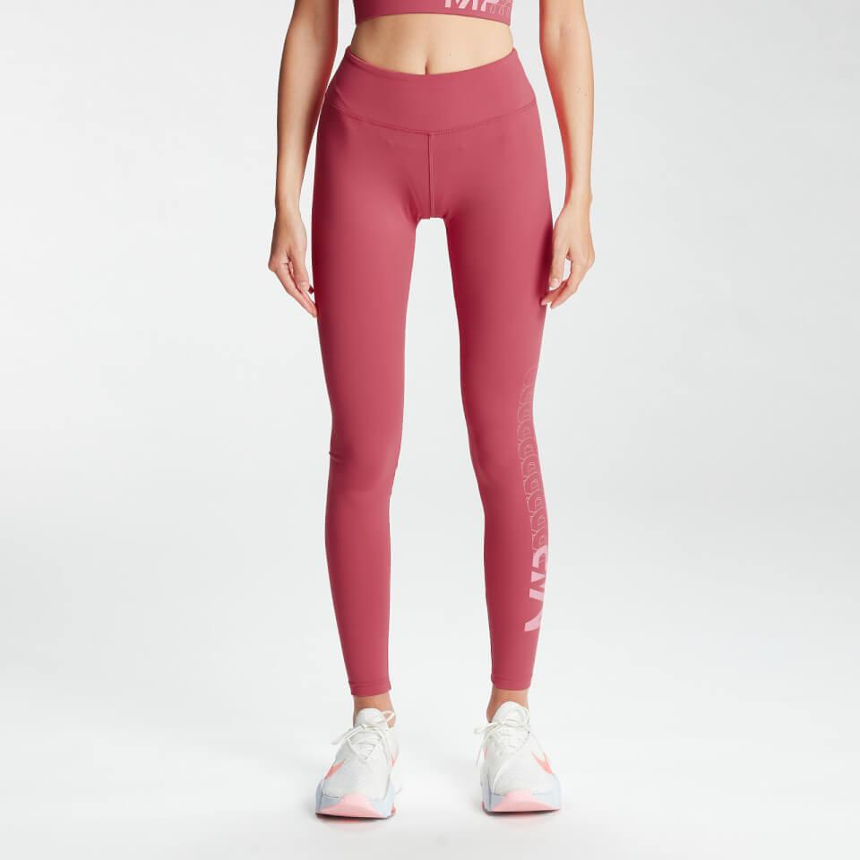 MP Women's Fade Graphic Training Leggings - Berry Pink - XXL