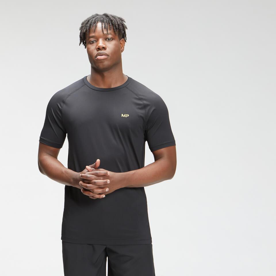 MP Tempo T-shirt met korte mouwen voor heren - Zwart  - XS