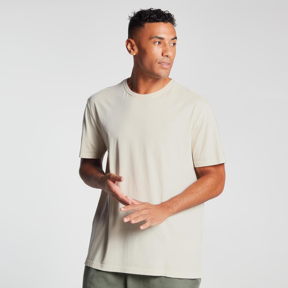MP Men's Raw Training Short Sleeve Oversized T-Shirt - Ecru   - XXL