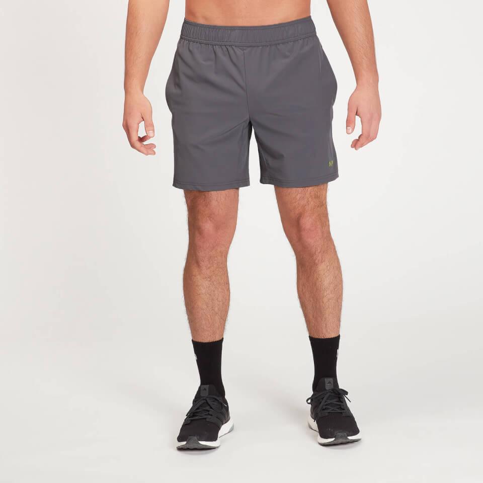 MP Men's Graphic Running Shorts - Carbon  - XXL