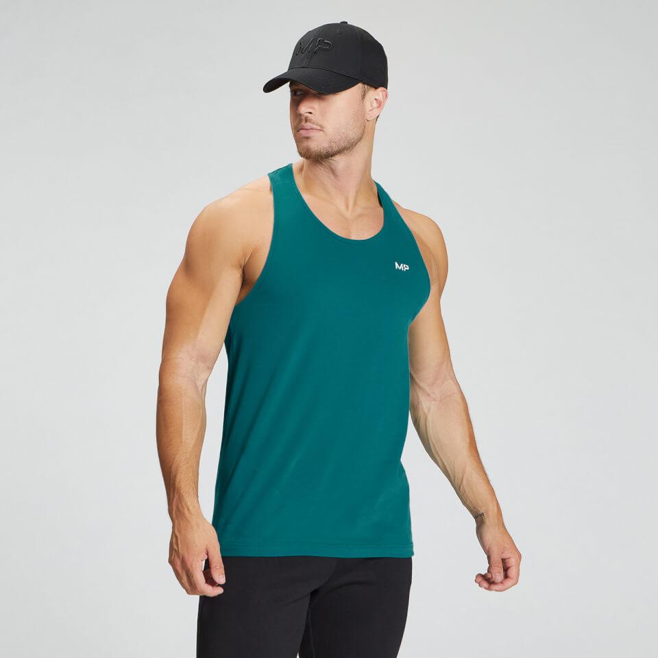 MP Men's Essentials Stringer Vest - Teal  - L