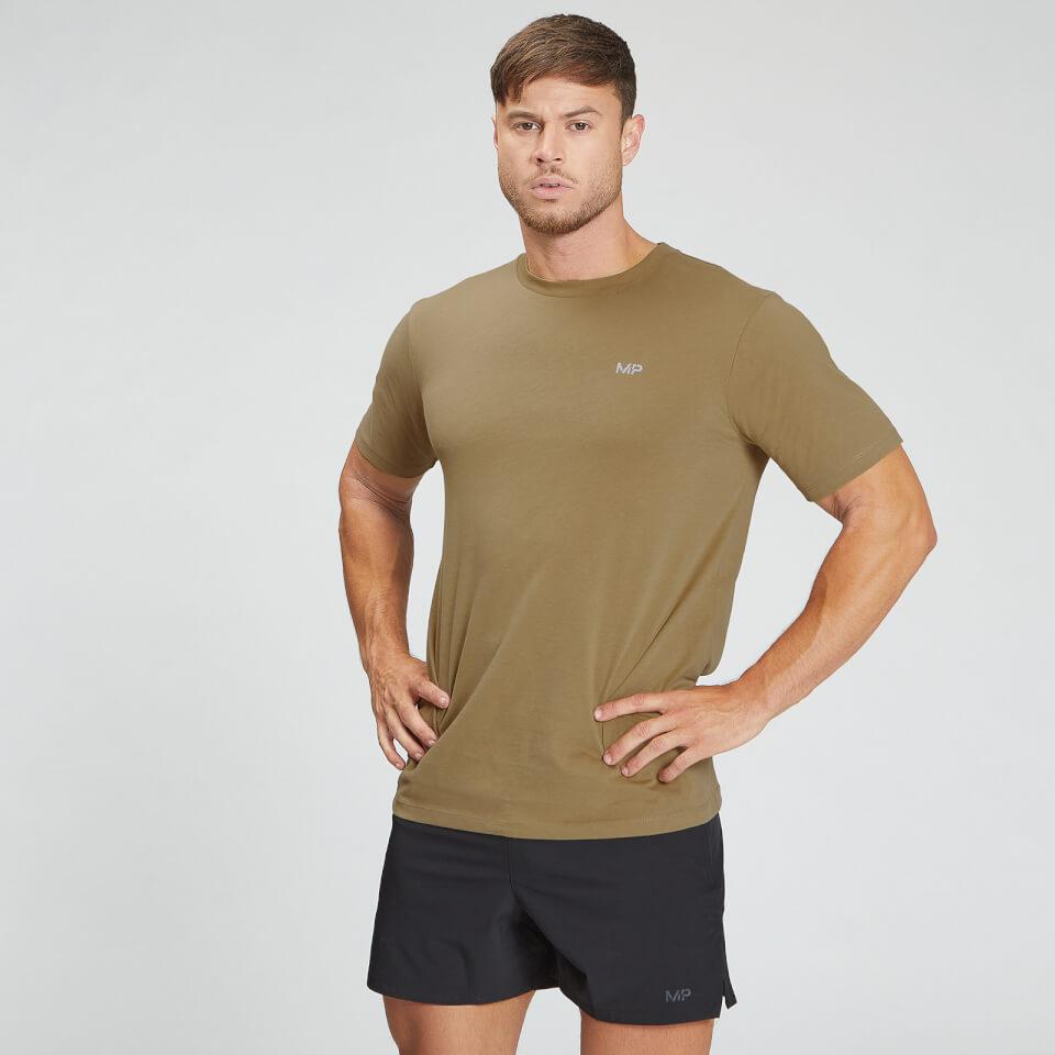 MP Men's Essentials T-Shirt - Dark Tan  - M