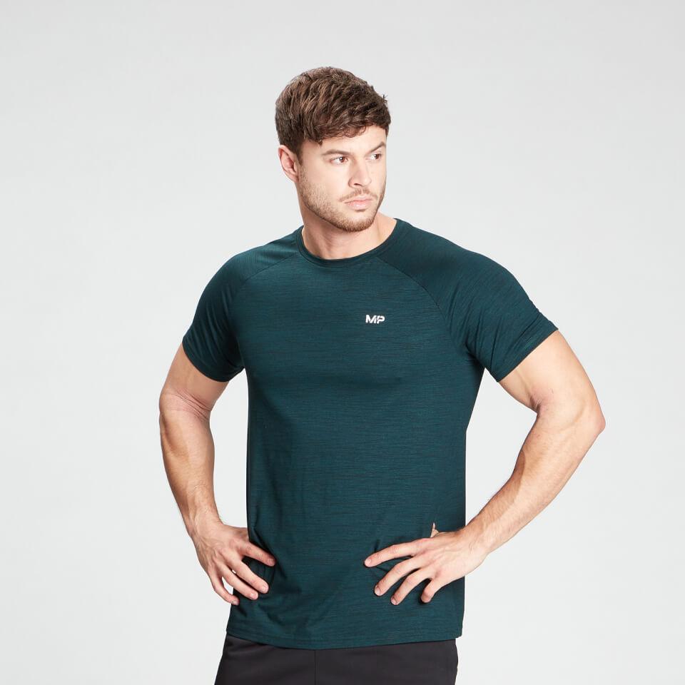 MP Men's Performance Short Sleeve T-Shirt - Deep Teal Marl - XXS