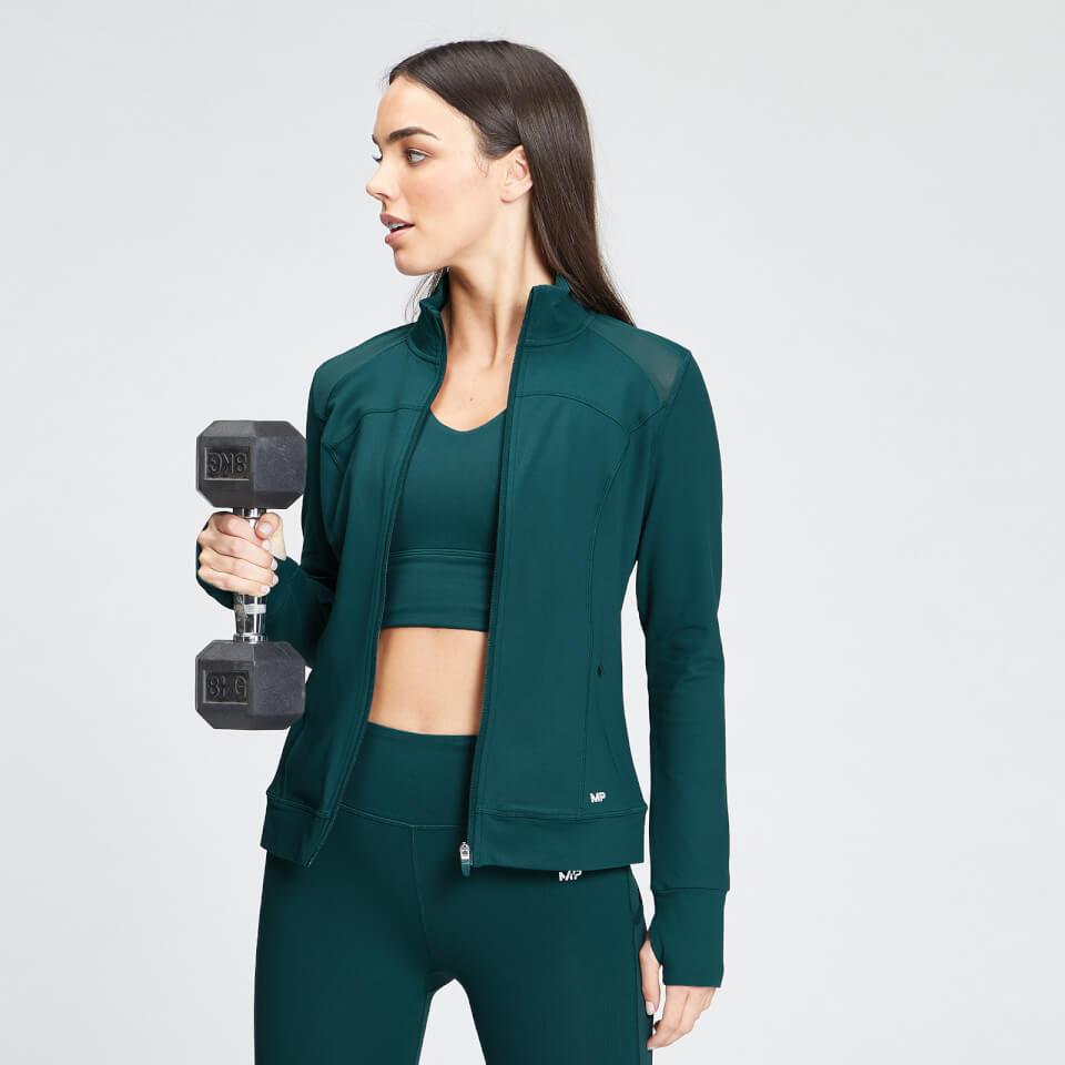 MP Women's Power Regular Fit Jacket - Deep Teal - S