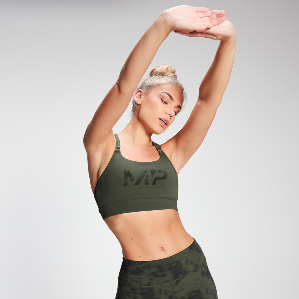MP Women's Raw Training Racer Back Sports Bra - Vine Leaf  - XS