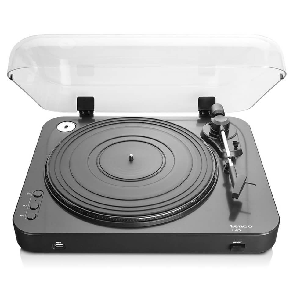 Ausgefallengadgets - Lenco L 85 USB Turntable with Direct Recording Black - Onlineshop Sowas Will Ich Auch