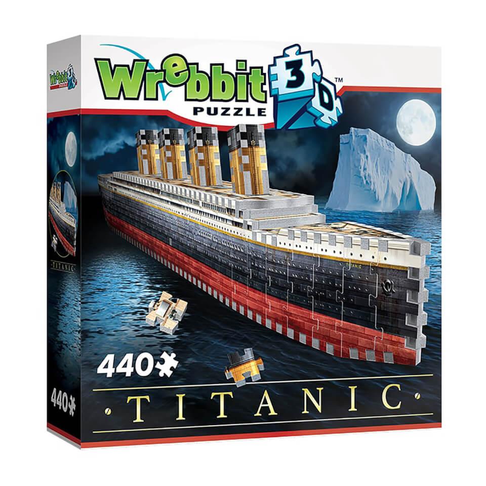 Ausgefallenkreatives - Titanic 3D Puzzle (440 Pieces) - Onlineshop Sowas Will Ich Auch