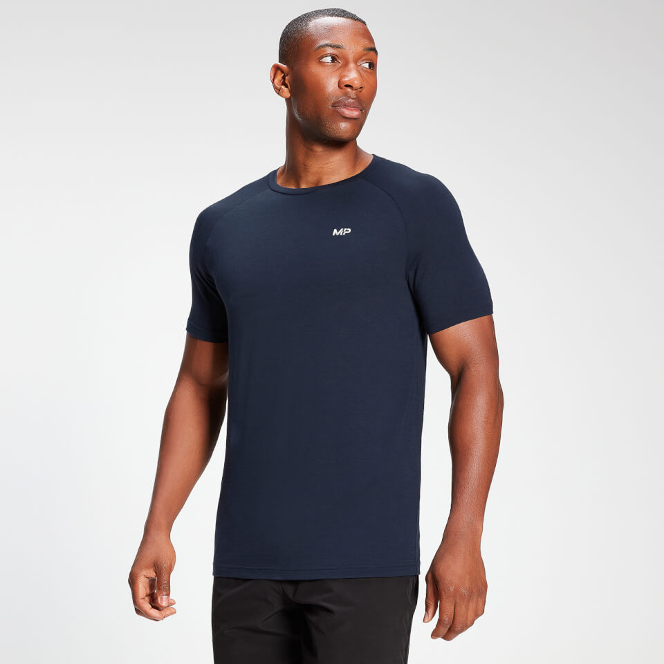 MP Men's Performance Short Sleeve T-Shirt - Petrol Blue Marl  - XXL