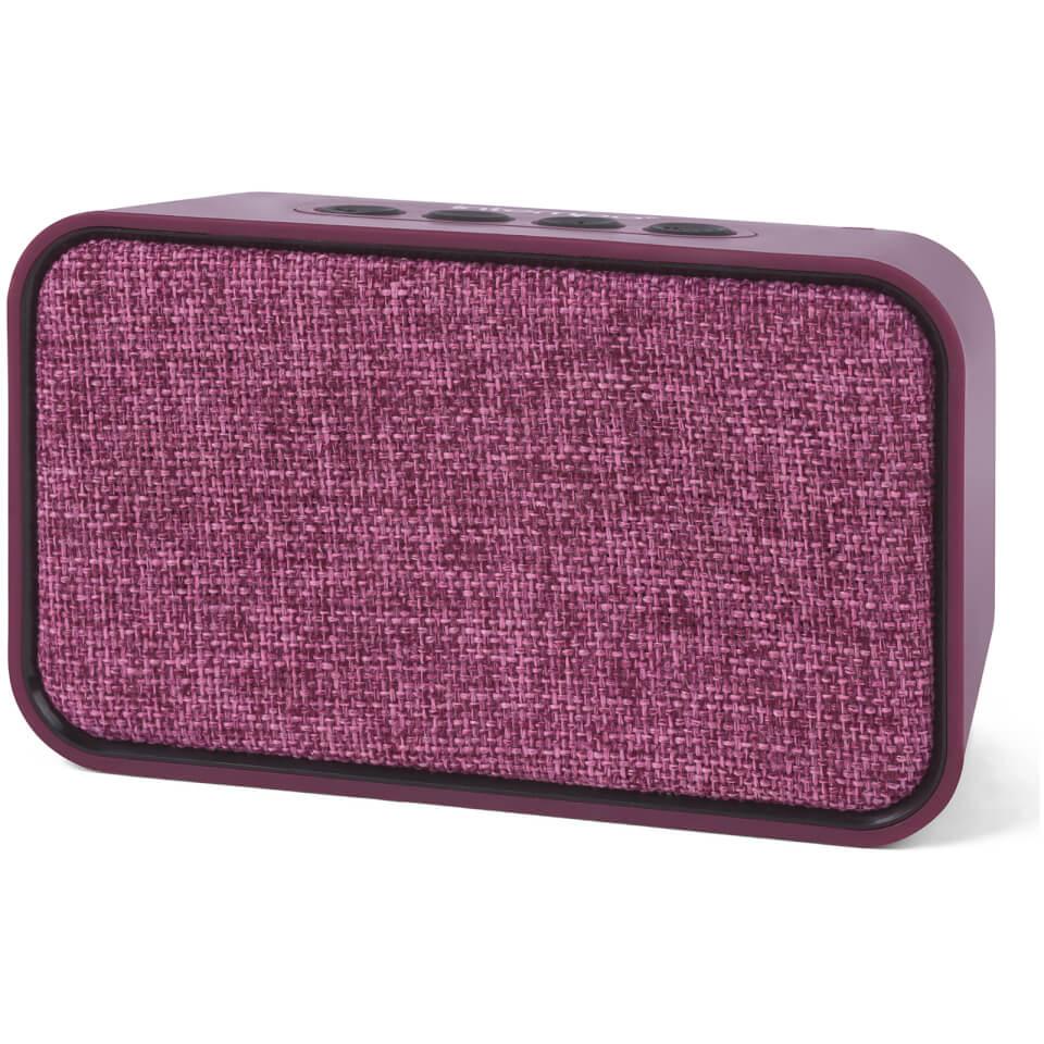 Ausgefallengadgets - Encore Wds 58 Bt Fabric Speaker Berry - Onlineshop Sowas Will Ich Auch