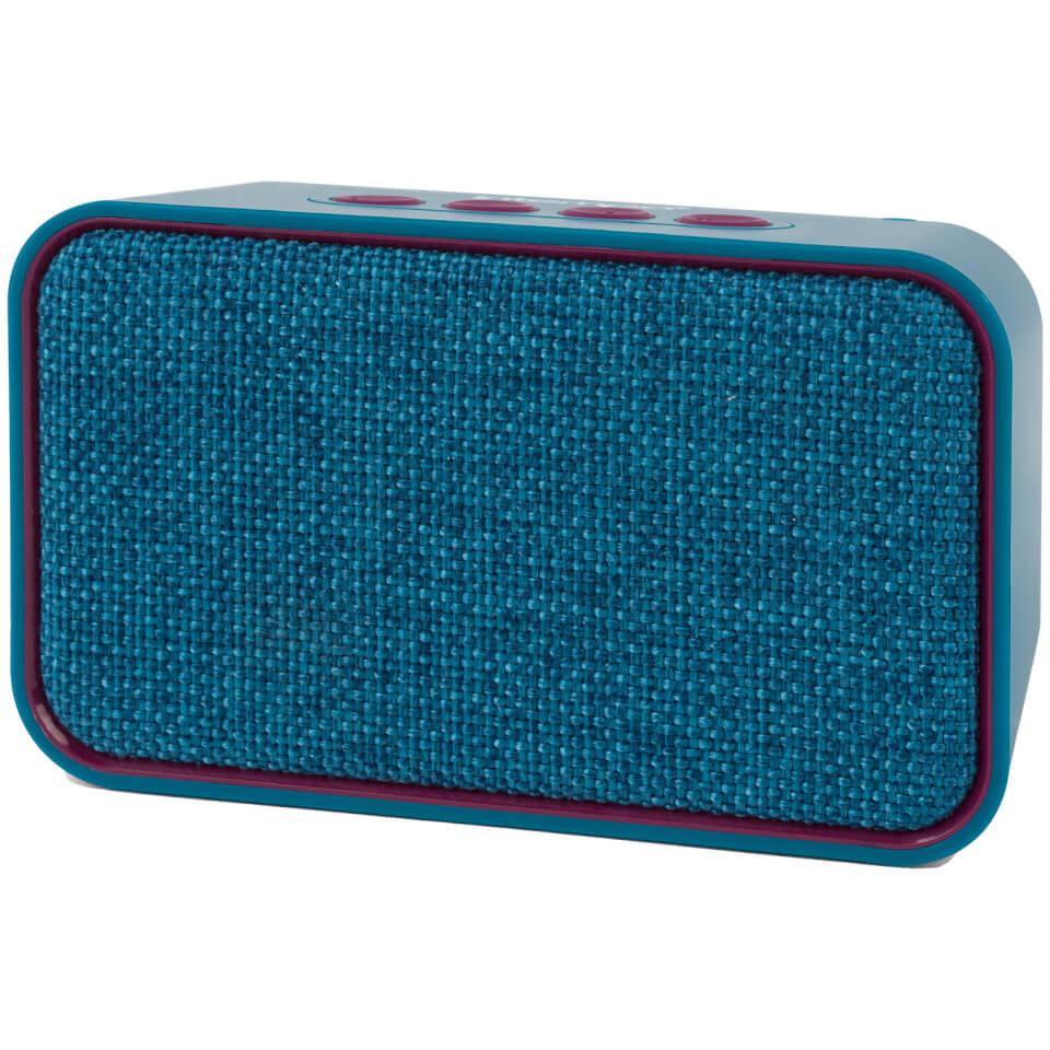 Ausgefallengadgets - Encore Wds 58 Bt Fabric Speaker Teal - Onlineshop Sowas Will Ich Auch