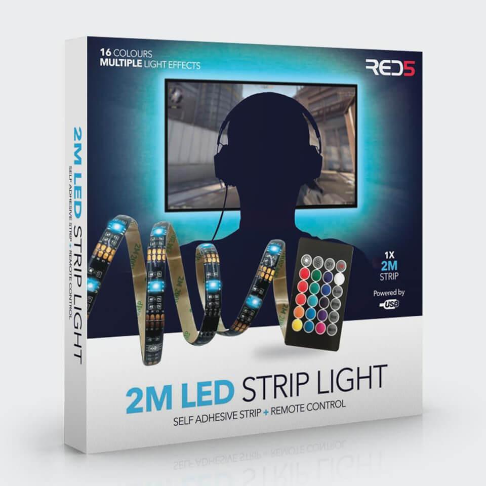 Ausgefallengadgets - LED Strip Lights 2M - Onlineshop Sowas Will Ich Auch