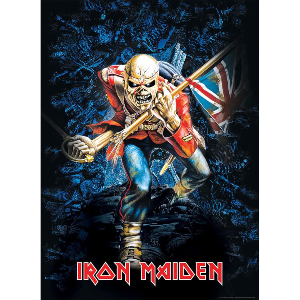 Ausgefallenkreatives - Iron Maiden The Trooper 1000 Piece Puzzle - Onlineshop Sowas Will Ich Auch
