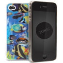 Cygnett Tonic iPhone 4 Case - 3D Fish