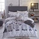 Image of Catherine Lansfield Penguin Colony Double Bedding Set - Multi