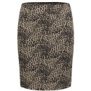 ONLY Women's Dina Leopard Print Pencil Skirt - Leopard - S/UK 6-8