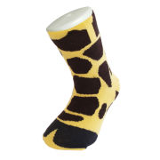 Image of Silly Socks Giraffe Feet - Kids' Size 1-4