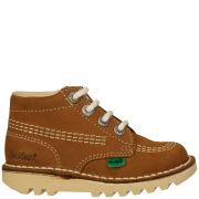 Kickers Infant Kick Hi Boots - Tan - UK 12 Infant/EU 30