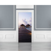 Image of Maldives Door Mural