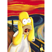 The Simpsons Scream  Maxi Poster  61 x 91.5cm