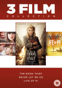 The Book Thief / Life of Pi / Never Let Me Go